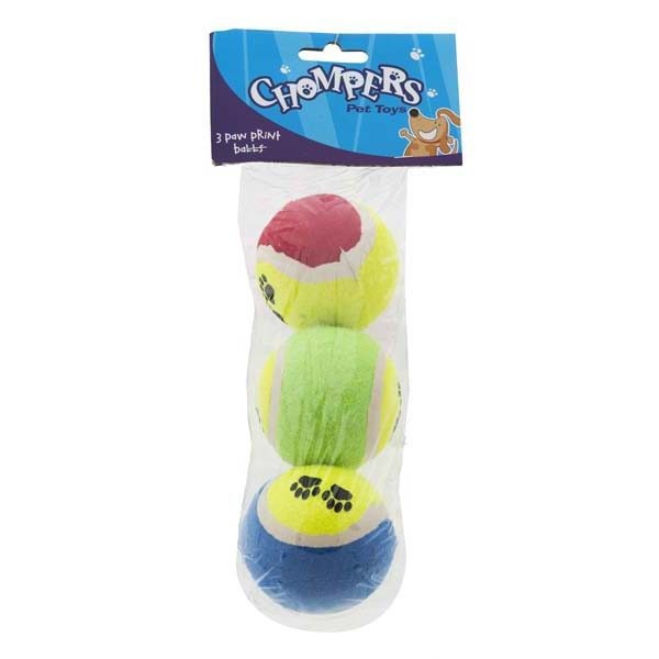 Dog-paw-print-tennis-ball-pack-of-3