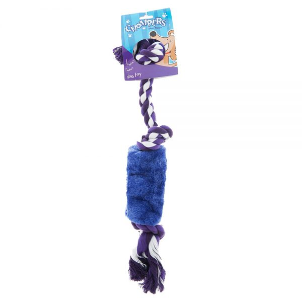 rope-with-plush-squeaker-dog-tug-toy-purple