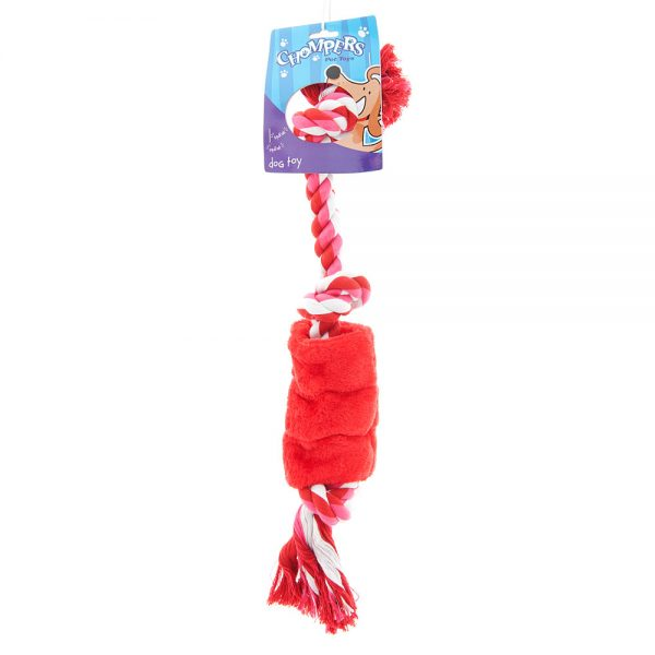rope-with-plush-squeaker-dog-tug-toy-red