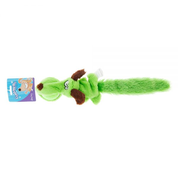 plush-dog-toy-with-ong-tail-and-ball-green