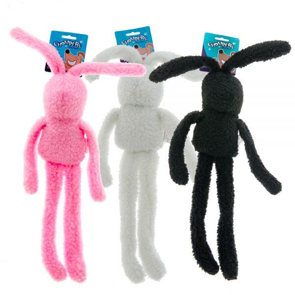 Woolly Rabbit dog chew toy