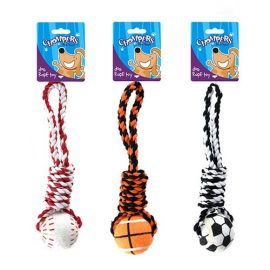 Rope-with-tennis-ball-dog-toy