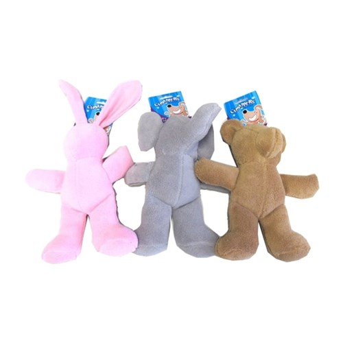 Plush-character-squeaker-dog-toy