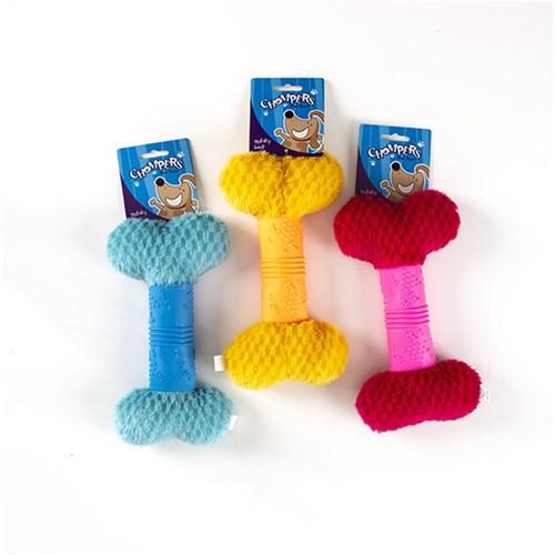 plush-&-TPR-dog-toy-chew-bone