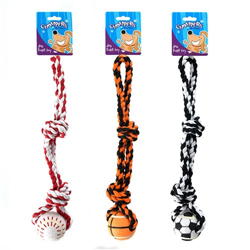 Rope-and-ball-double-knot-dog-chew-toy