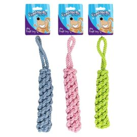 Braided rope dog toy