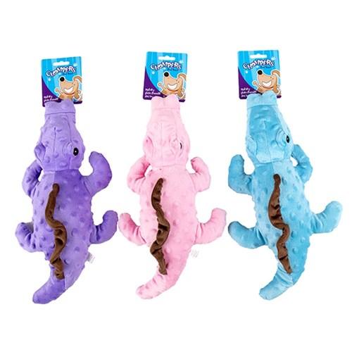 Squeaky Plush Crocodile Dog Toy