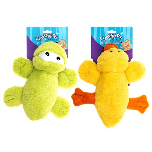 Plush sqeaky dog toy